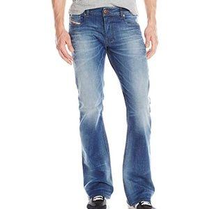 Diesel Zathan distressed bootcut jeans VGUC